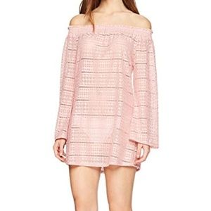 NWT Kenneth Cole bell sleeve Dress swim cover up